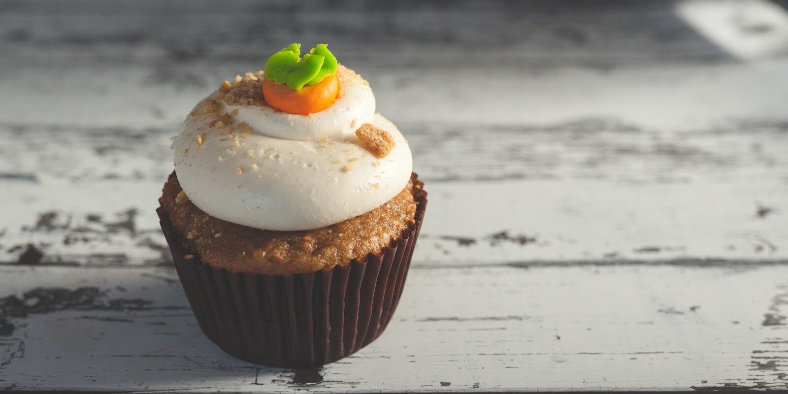 Mindfulness cupcake