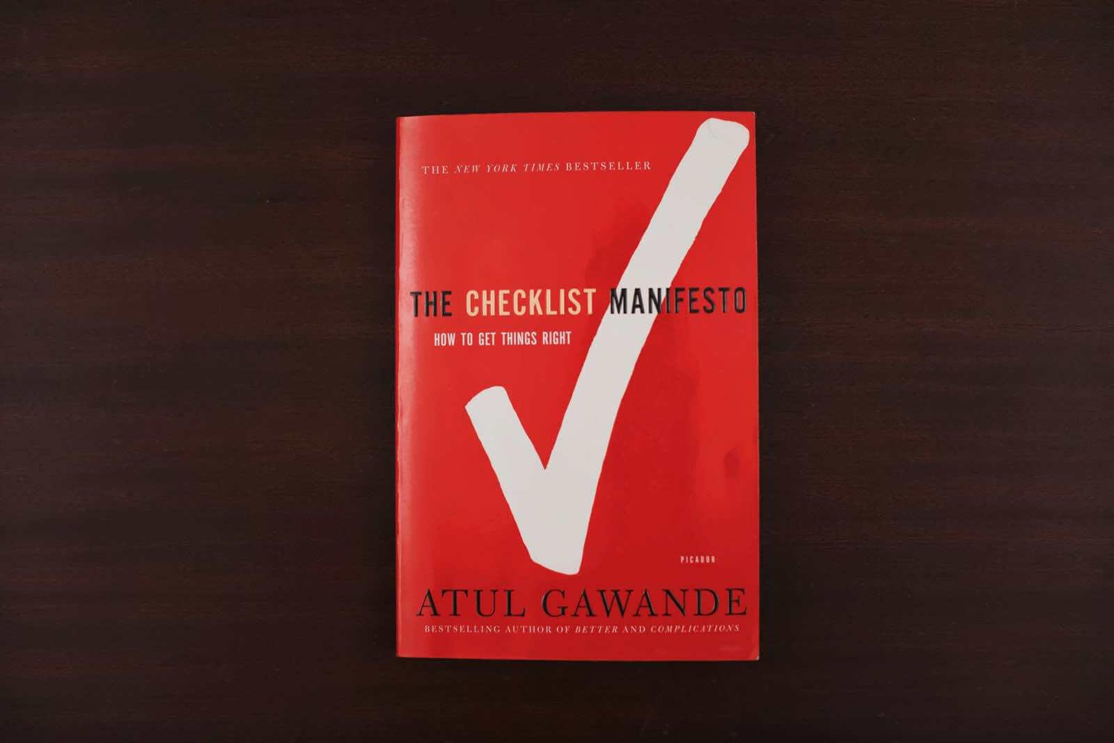 Wignall Checklist Manifesto small