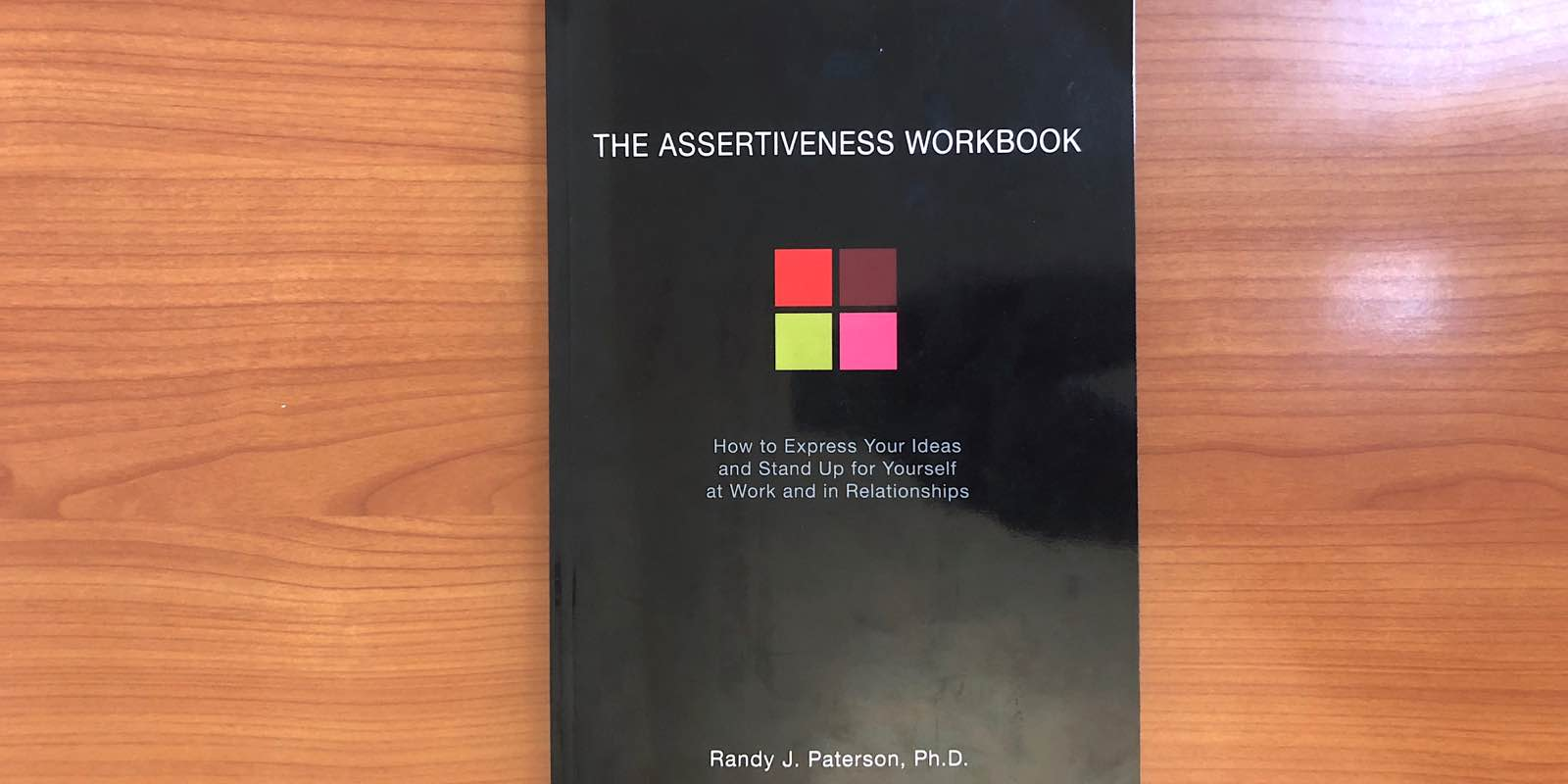 how to be assertive book
