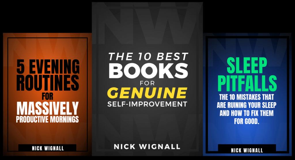 Bonus Downloads Nick Wignall Books