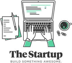 The Startup Logo Nick Wignall