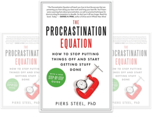 How to Stop Procrastinating Procrastination Equation Book Cover Nick Wignall
