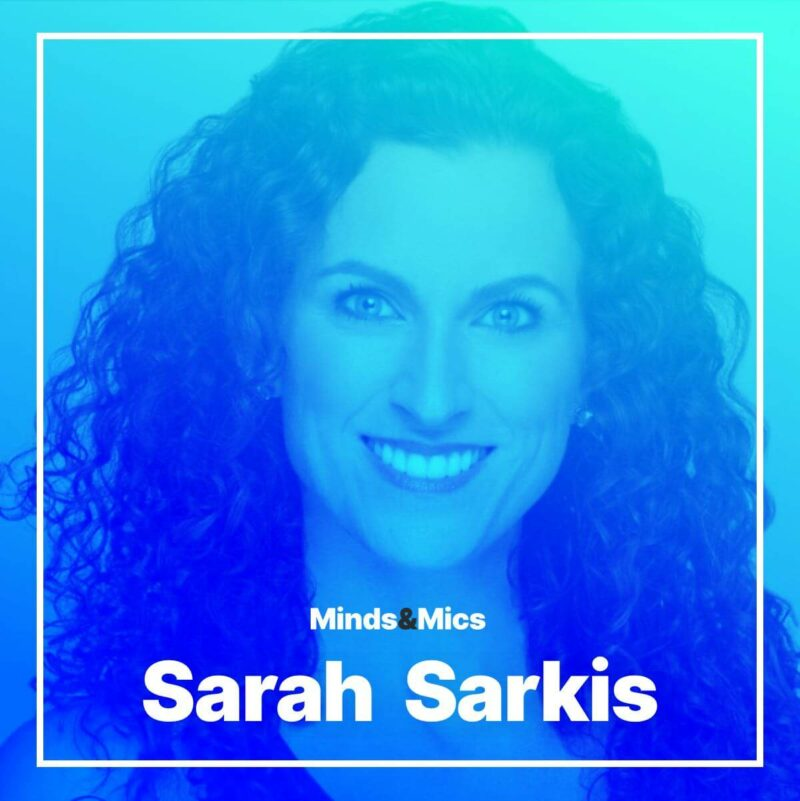 Sarah Sarkis Photo Minds and Mics Wignall