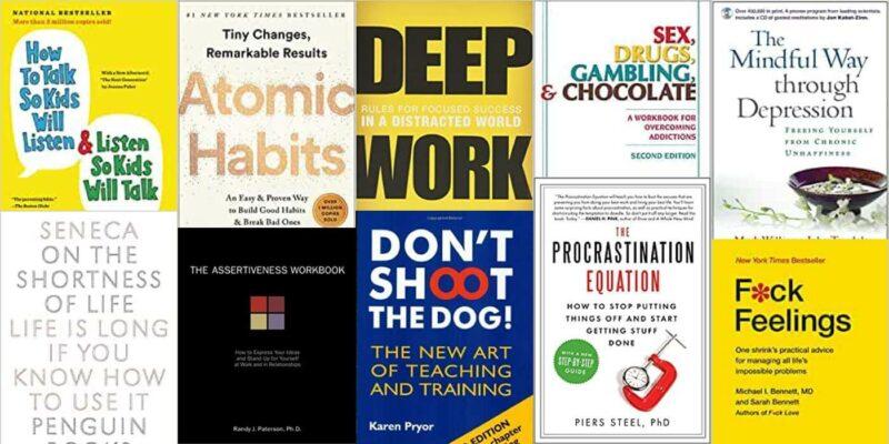 Self-help books wignall