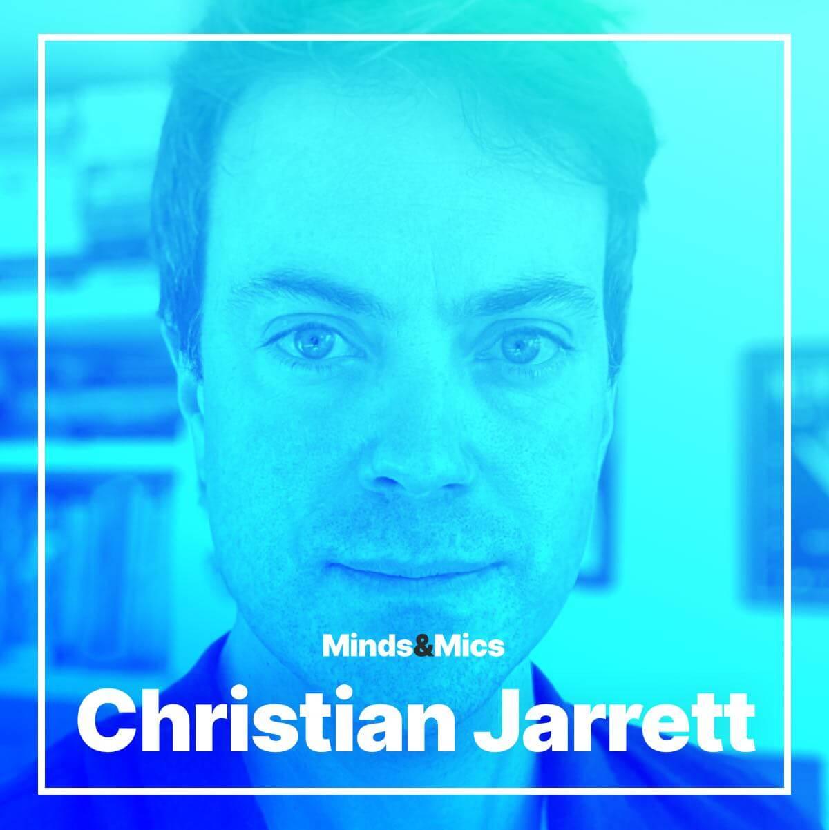 Christian Jarrett Minds and Mics Wignall